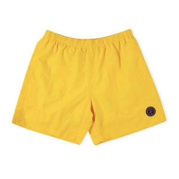 ALLTIMERS YELLOW SOAKED SWIM TRUNK