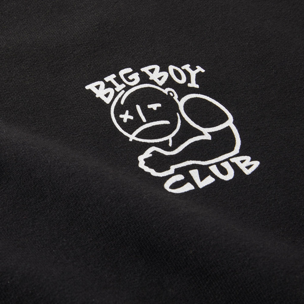 POLAR BIG BOY CLUB CREWNECK SWEAT BLACK