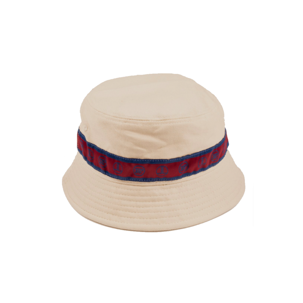 PASS-PORT X LOW LIFE RIBBON BUCKET HAT NATURAL