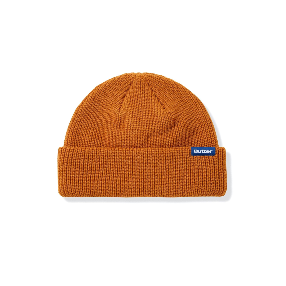 BUTTER GOODS WHARFIE BEANIE WALNUT