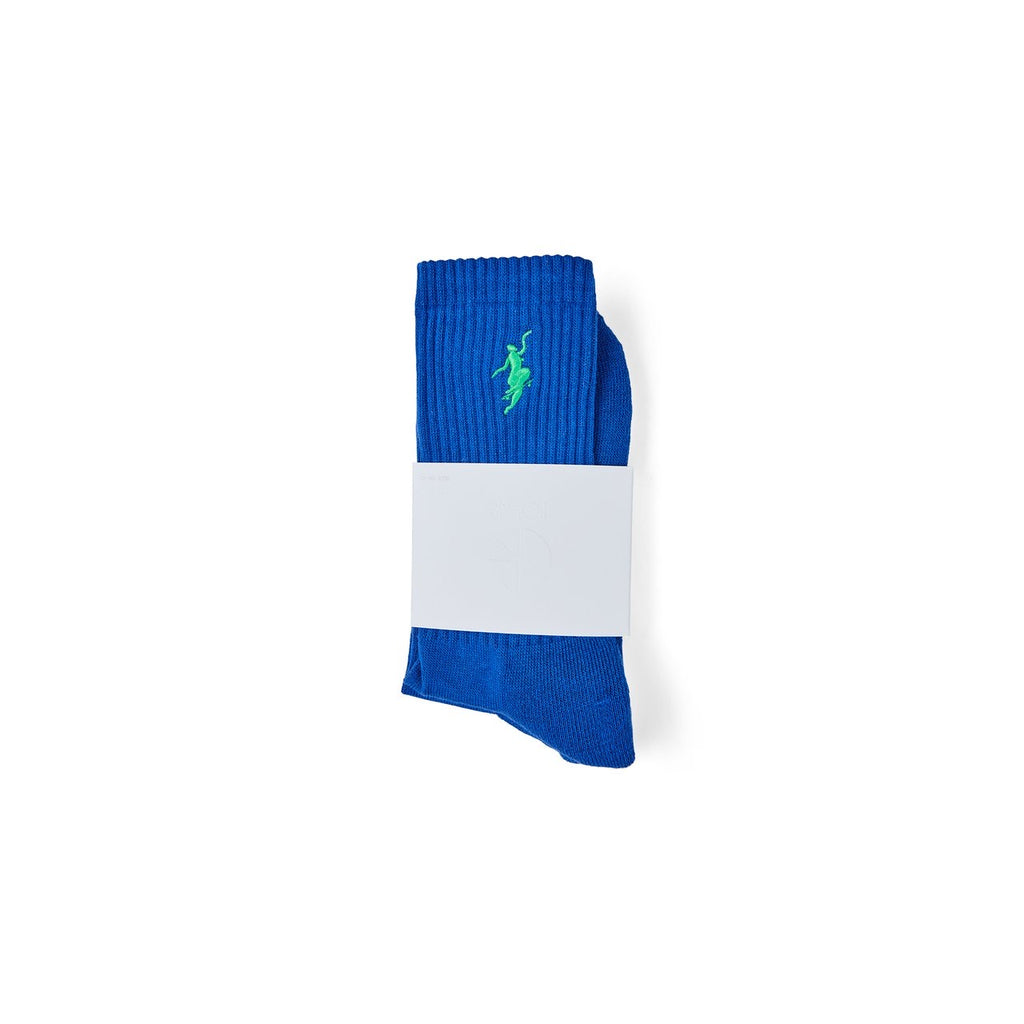POLAR NO COMPLY SOCKS BLUE