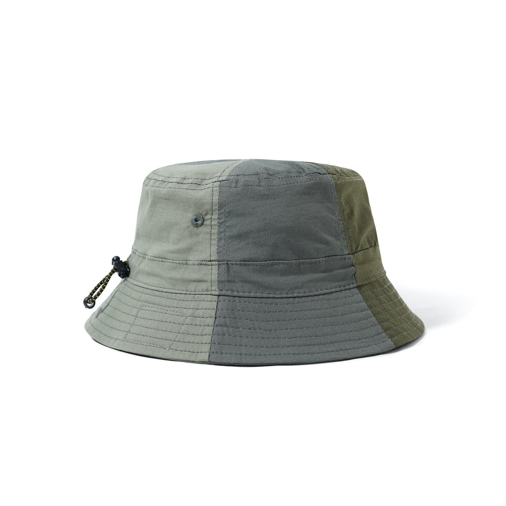 BUTTER GOODS PATCHWORK BUCKET HAT ARMY