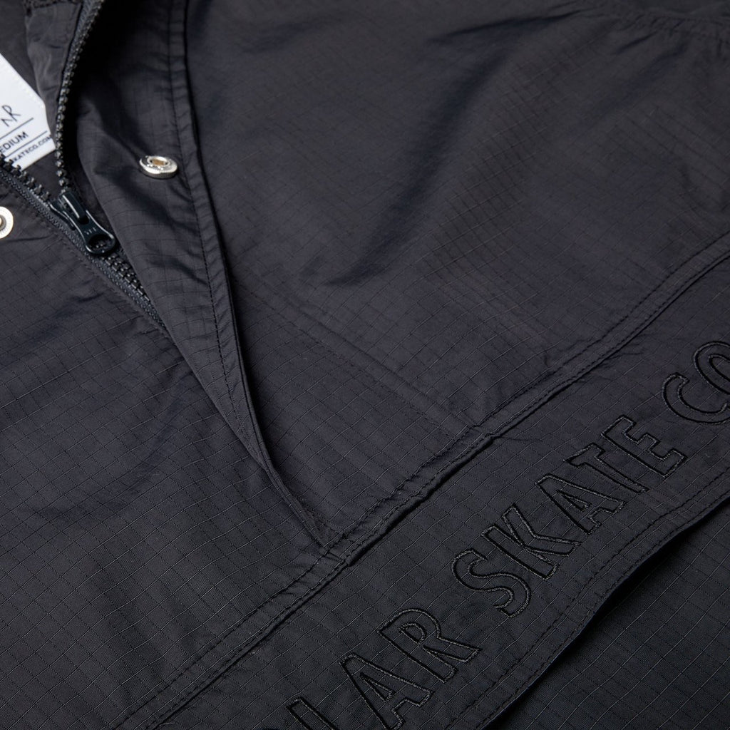 POLAR ANORAK JACKET BLACK