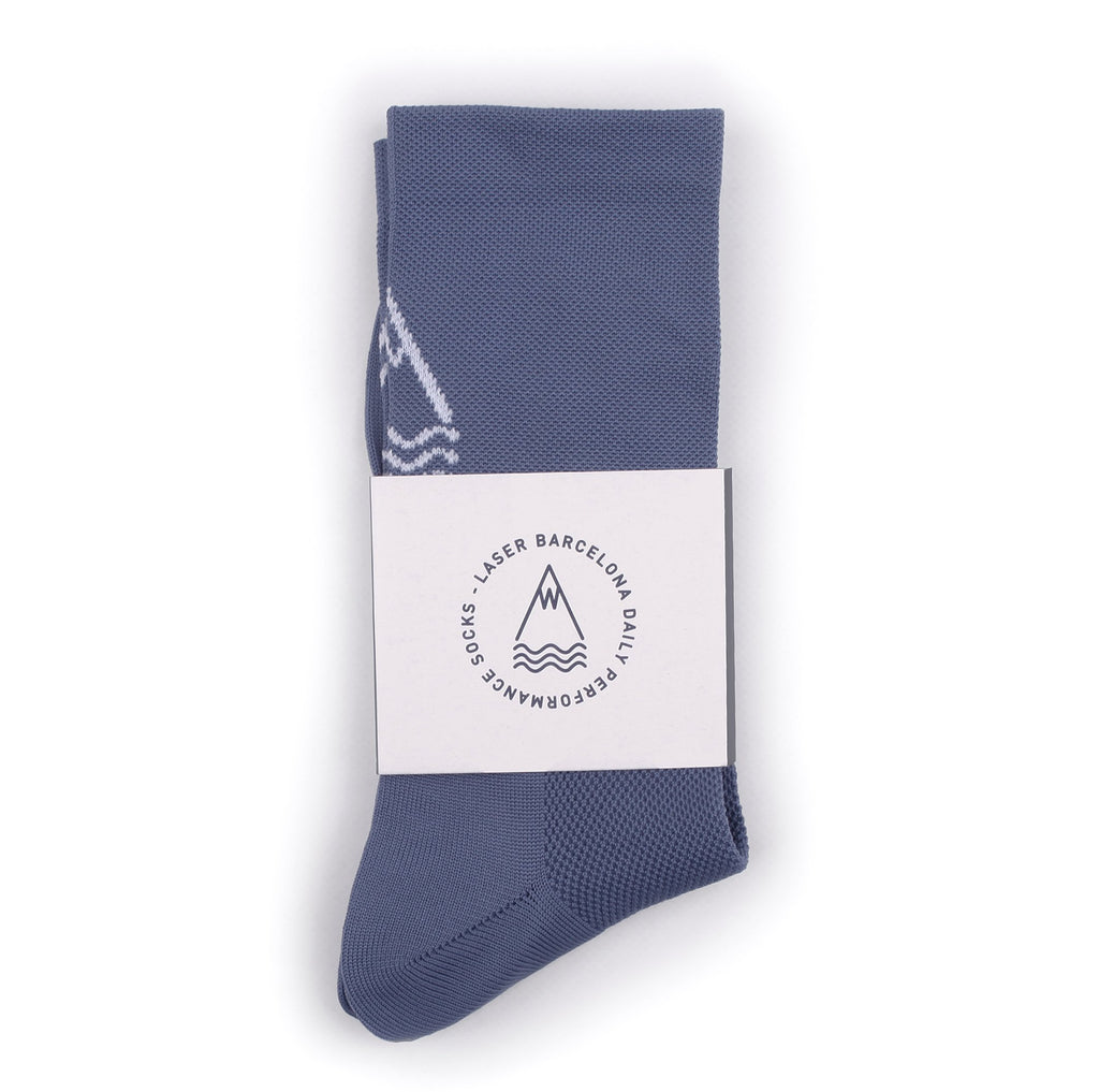 LASER OG DAILY SOCKS STEEL
