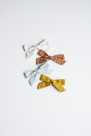 SEAFOAM LINEN | MAXI Bows for babies, toddlers & kids | Kids Clothing and Accessories | La-Bel