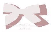 BLUSH LINEN | MAXI Bows for babies, toddlers & kids | Kids Clothing and Accessories | La-Bel