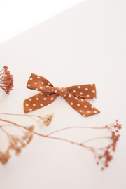 EARTH POLKADOT | MAXI Bows for babies, toddlers & kids | Kids Clothing and Accessories | La-Bel