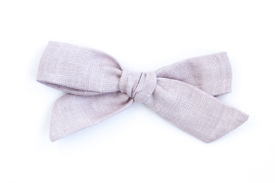 LILAC LINEN | MAXI Bows for babies, toddlers & kids | Kids Clothing and Accessories | La-Bel