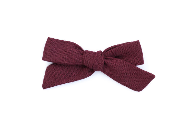 BERRY LINEN | MINI Bows for babies, toddlers & kids | Kids Clothing and Accessories | La-Bel