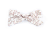 BLUSH FLORAL | MAXI Bows for babies, toddlers & kids | Kids Clothing and Accessories | La-Bel