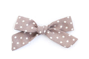 MAUVE POLKADOT | MAXI Bows for babies, toddlers & kids | Kids Clothing and Accessories | La-Bel