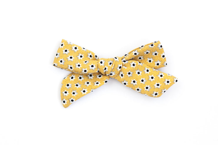 SUNSHINE DAISY | MINI Bows for babies, toddlers & kids | Kids Clothing and Accessories | La-Bel