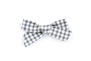 BLUE GINGHAM | MINI Bows for babies, toddlers & kids | Kids Clothing and Accessories | La-Bel
