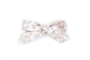 BLUSH FLORAL | MINI Bows for babies, toddlers & kids | Kids Clothing and Accessories | La-Bel