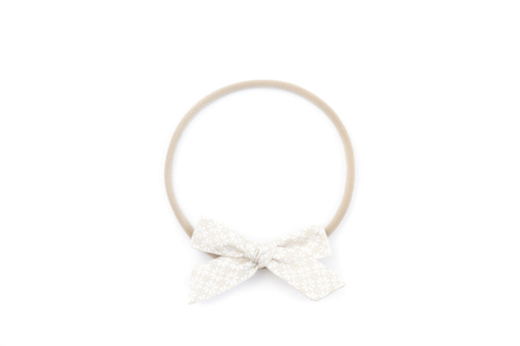 NATURAL DAISY | MINI Bows for babies, toddlers & kids | Kids Clothing and Accessories | La-Bel