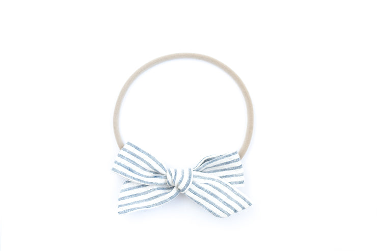 FRENCH STRIPE | MAXI Bows for babies, toddlers & kids | Kids Clothing and Accessories | La-Bel