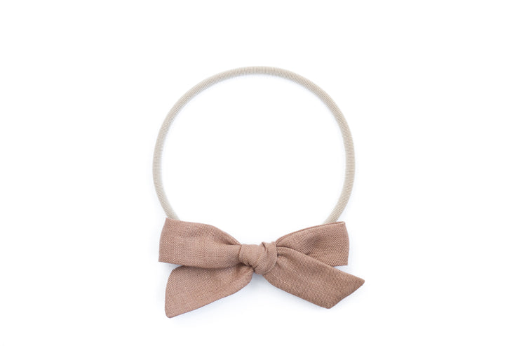 FAWN LINEN | MAXI Bows for babies, toddlers & kids | Kids Clothing and Accessories | La-Bel