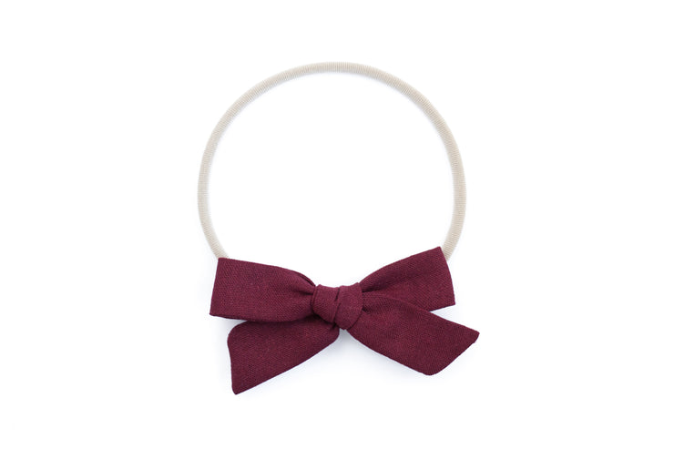BERRY LINEN | MAXI Bows for babies, toddlers & kids | Kids Clothing and Accessories | La-Bel