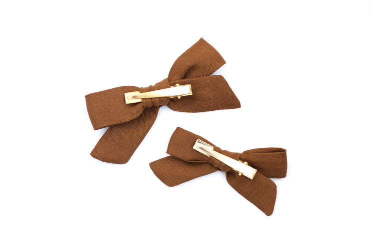 EARTH LINEN | MAXI Bows for babies, toddlers & kids | Kids Clothing and Accessories | La-Bel