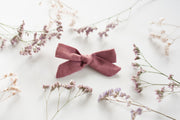 PLUM LINEN | MINI  Bows for babies, toddlers & kids | Kids Clothing and Accessories | La-Bel