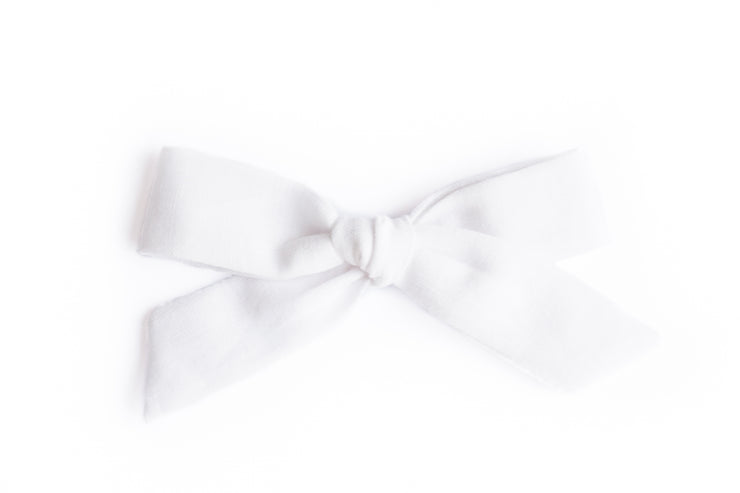WHITE LINEN | MAXI Bows for babies, toddlers & kids | Kids Clothing and Accessories | La-Bel