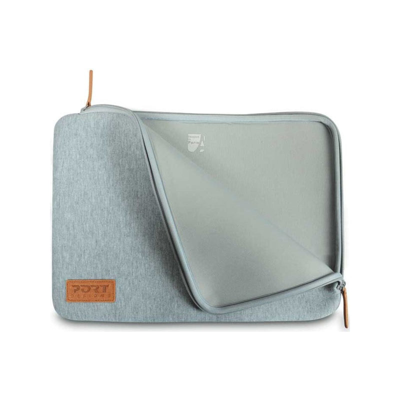 PORT NOTEBOOK SLEEVE TORINO GREY 13 INCH 1 YEAR CARRY IN WARRANTY