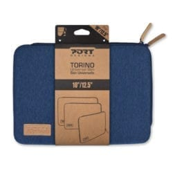 PORT DESIGNS TORINO 10/12.5 NOTEBOOK SLEEVE BLUE - Platinum Selection