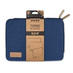 PORT DESIGNS TORINO 13.3 NOTEBOOK SLEEVE BLUE - Platinum Selection