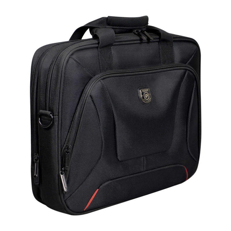 PORT TOP LOADER NOTEBOOK BAG COURCHEVEL BLACK 13.3 INCH 1 YEAR CARRY IN WARRANTY