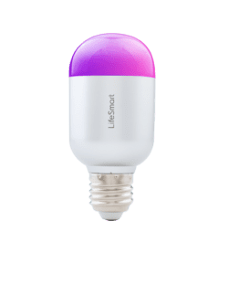 LIFESMART BLEND RGB LED LIGHT BULB EDISON SCREW 27MM|220V – WHITE - Platinum Selection