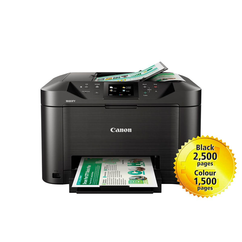 Canon MAXIFY MB5140 A4 4-in1 Multifunction Business Wi-Fi Inkjet Printer