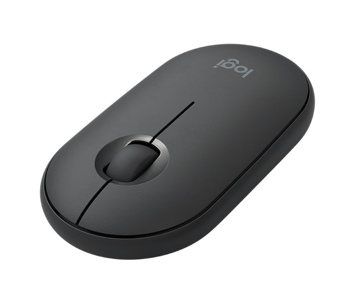Logitech 910-005718 M350 Pebble Cordless Optical Mouse - Black