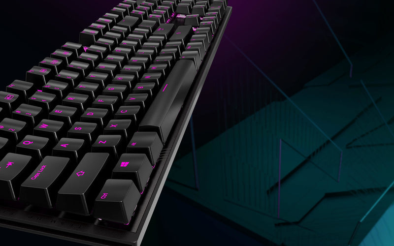 Gigabyte Aorus K1 RGB - Cherry MX Red - Vengeance Performance FPS Mechanical Aluminum Gaming Keyboard