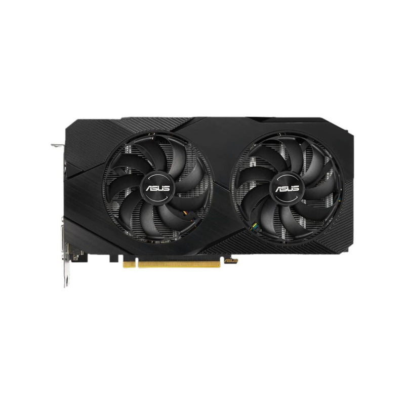 ASUS GRAPHICS CARD DUAL GTX 1660S EVO 6GB DDR6 2X HDMI 1X DVI-D 1 X DISPLAY PORT 2 X FAN MAX DISPLAY SUPPORT_4 500W 3 YEAR CARRY IN WARRANTY