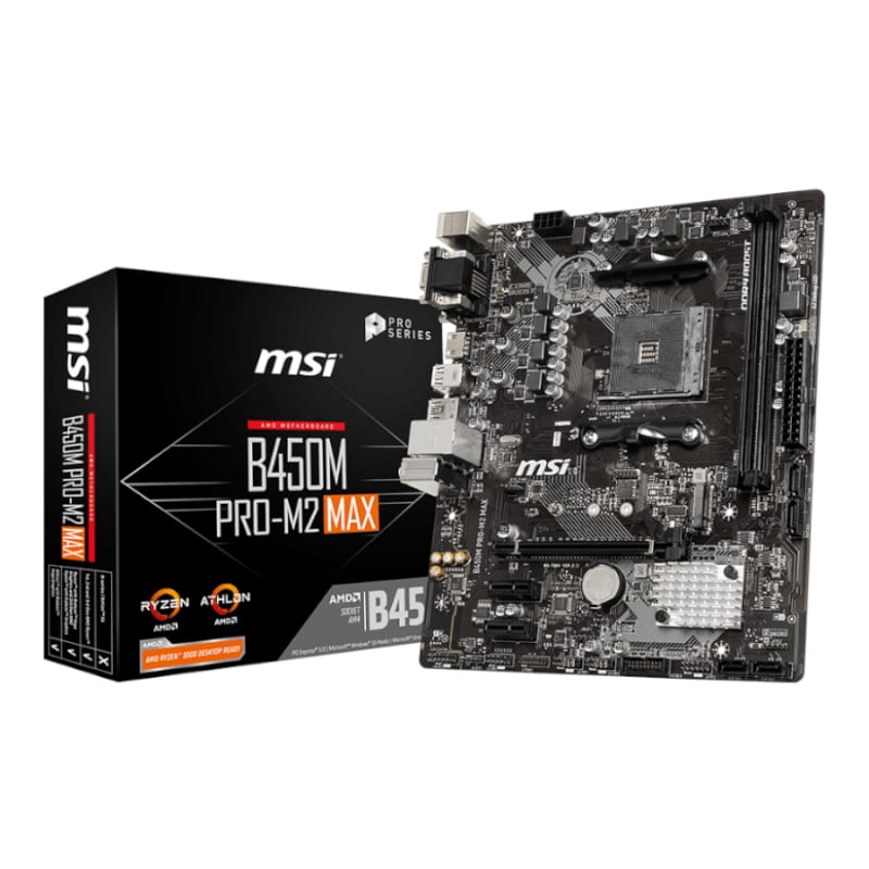 MSI AMD B450M 2XDDR4 1XM.2 - Platinum Selection