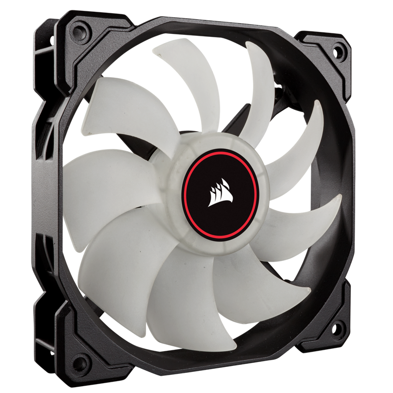 120mm Corsair Air Series™ AF120 LED (2018) Red 120mm Fan Triple Pack
