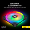 Corsair CO-9050097-WW QL120 iCUE RGB LED 120mm PWM Case Fan