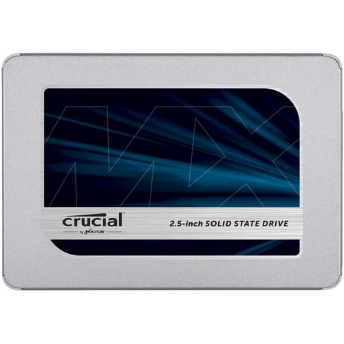 Crucial MX500 1TB 2.5 SSD - Platinum Selection