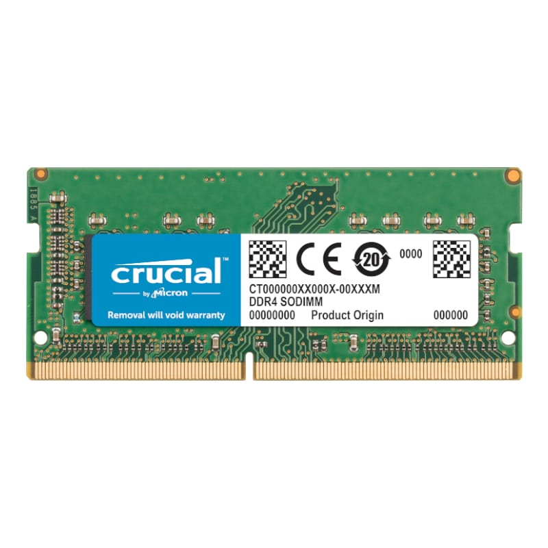 Crucial Mac 16GB DDR4 2666Mhz SO-DIMM - Platinum Selection