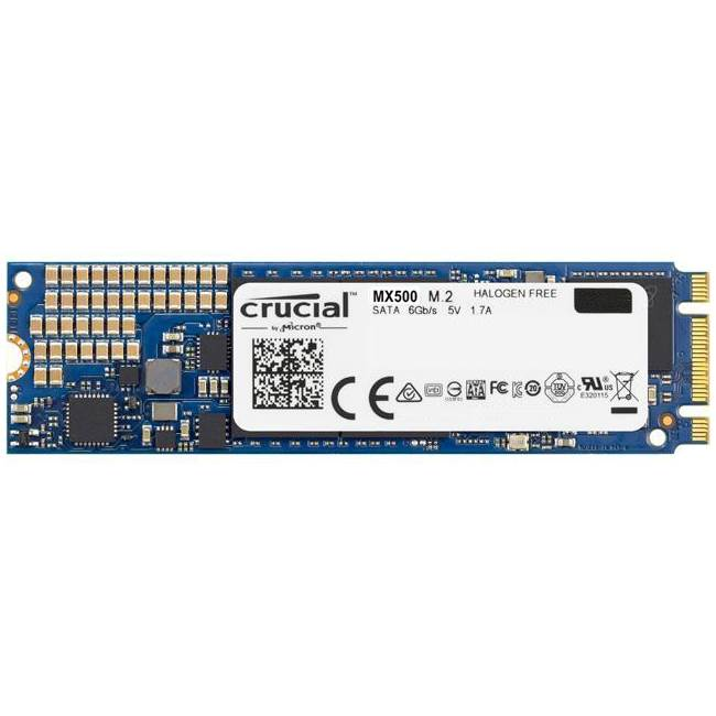 Crucial MX500 250GB M.2 2280DS SSD - Platinum Selection
