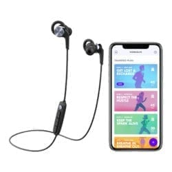 1MORE FITNESS E1018PLUS VI REACT SPORT IPX6 BT IN-EAR HEADPHONES – SPACE GREY - Platinum Selection