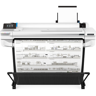 HP DesignJet T525 36-Inch Colour Large Format Inkjet Printer - Platinum Selection