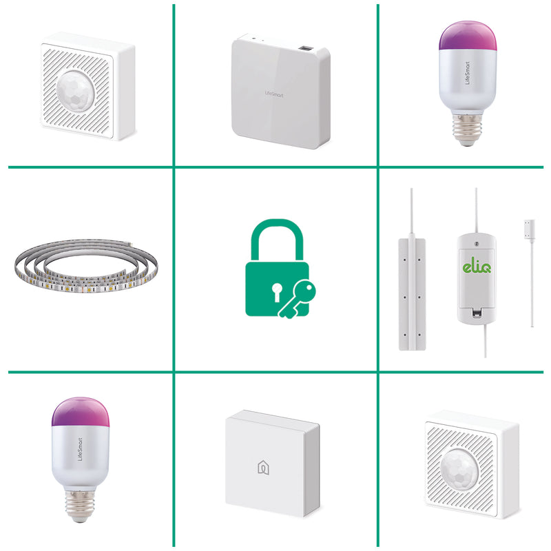 Lifesmart Smart Home Starter Kit Lighting
