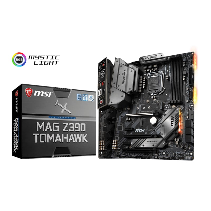 MSI INT Z390 4XDDR4 2XM.2 ML - Platinum Selection