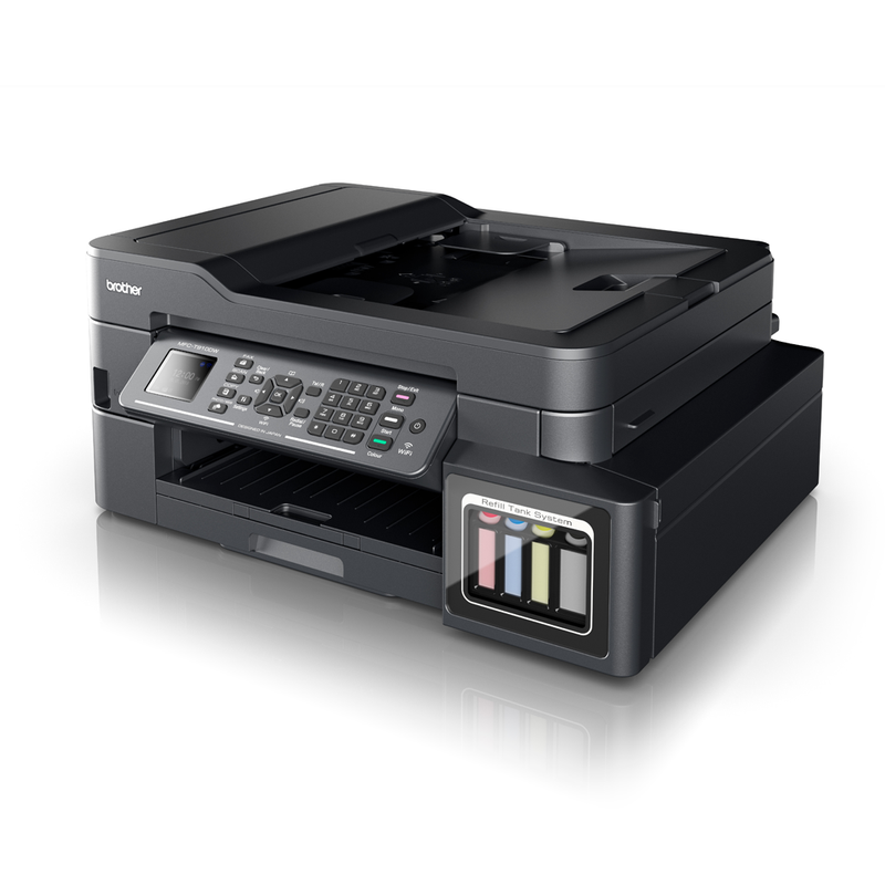 Brother MFC-T910DW 4-in-1 Multifunction Ink Tank System Wi-Fi Printer - Platinum Selection