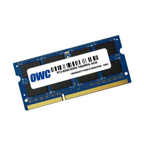 OWC Mac 8GB DDR3 1066MHz SO-DIMM - Platinum Selection