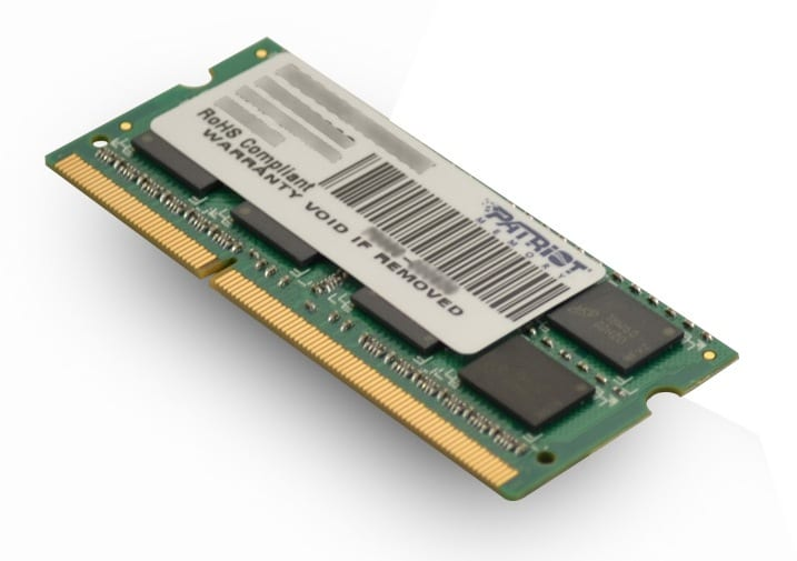 Patriot Signature Line 4GB DDR3 1600MHz SO-DIMM Dual Rank - Platinum Selection