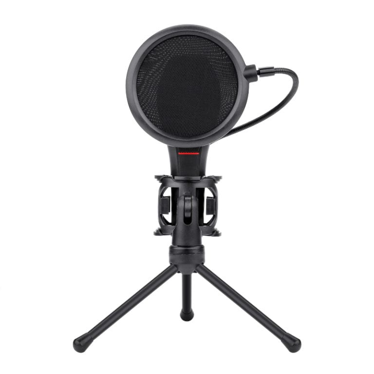 REDRAGON OMNIDIRECT GAMING MIC AND TRIPOD – BLACK - Platinum Selection