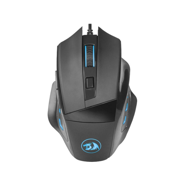 REDRAGON PHASER 3200DPI GAMING MOUSE – BLACK - Platinum Selection
