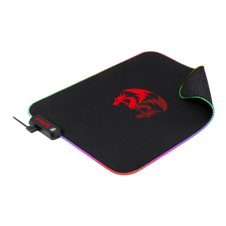 REDRAGON PLUTO RGB GAMING MOUSE PAD 330X260X3MM - Platinum Selection